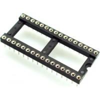 DIP панель 28-контактная цанговая широкая