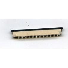Разъем под 30-ти контактный шлейф, шаг 1 мм.