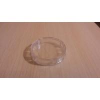 Коробка круглая, из прозрачного пластика